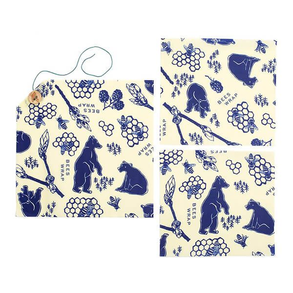 Bee's Wrap Bees And Bears Lunch Pack