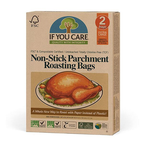 If You Care XL Non-Stick Parchment Roasting Bags