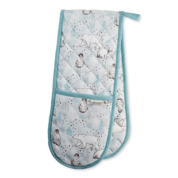 Cooksmart Frosty Morning Double Oven Glove