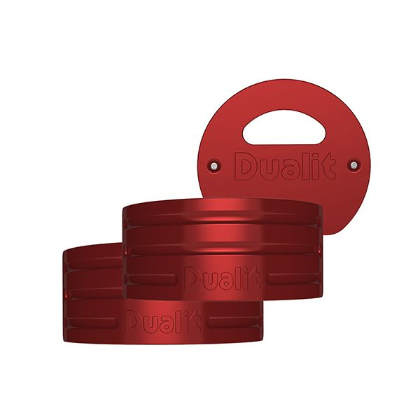 Dualit Architect Kettle Apple Candy Red Panel Pack