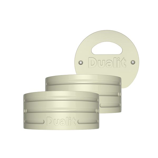 Dualit Architect Kettle Canvas White Panel Pack