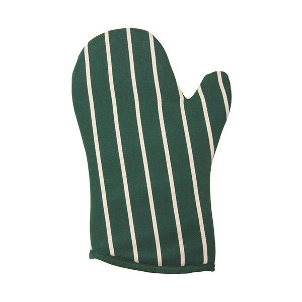 Dexam Rushbrookes Classic Butchers Stripe Gauntlet Green