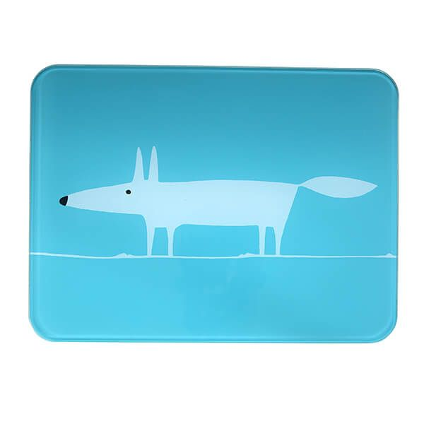 Scion Living Mr Fox Teal Worktop Saver
