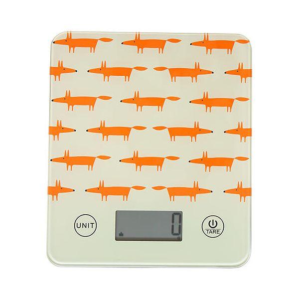 Scion Living Mr Fox Stone Electronic Kitchen Scales