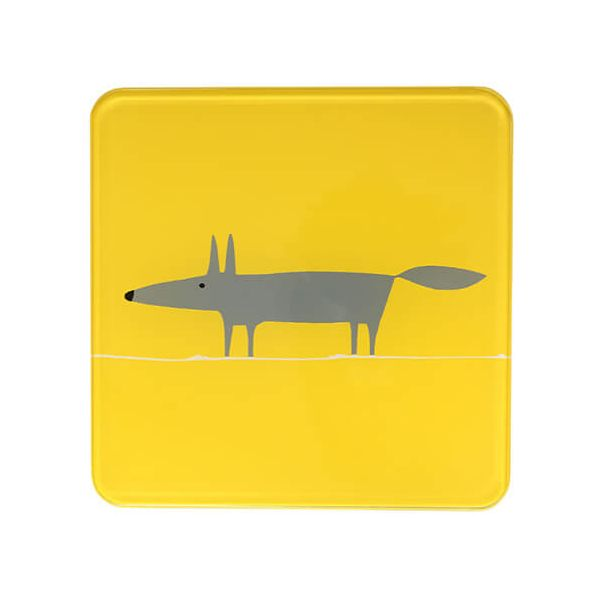 Scion Living Mr Fox Yellow Hot Pot Stand