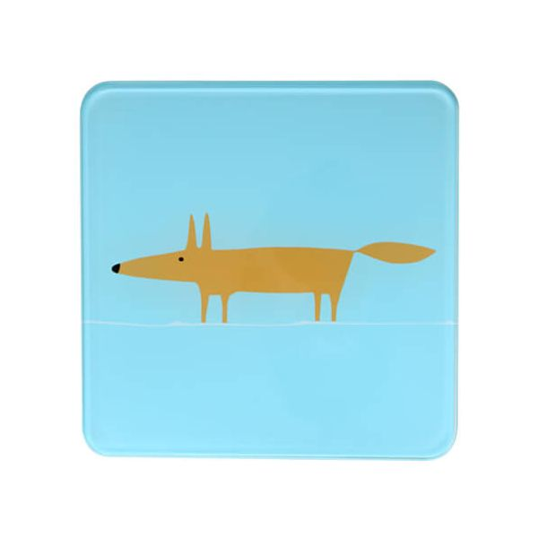 Scion Living Mr Fox Blue Hot Pot Stand