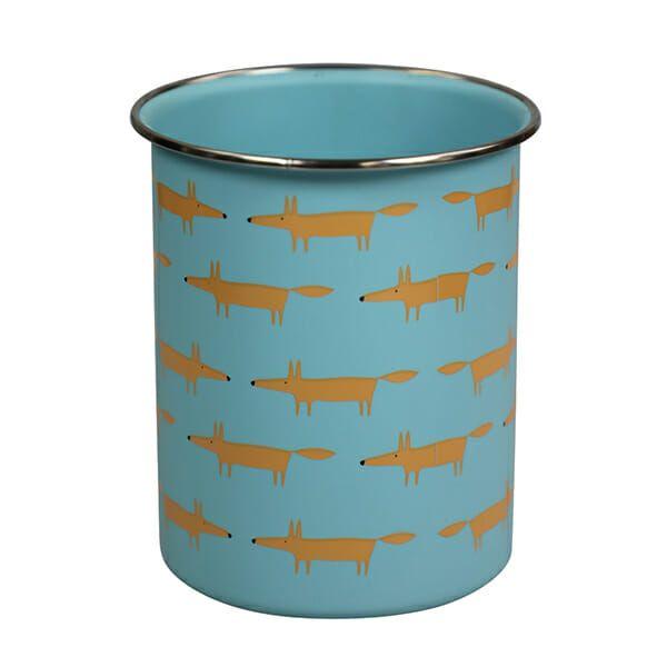 Scion Living Mr Fox Utensil Jar Blue