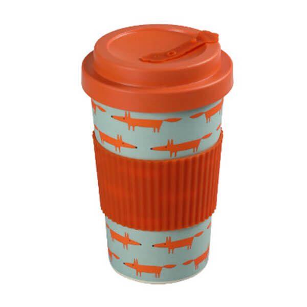 Scion Living Mr Fox BamBroo Blue Drinks Mug