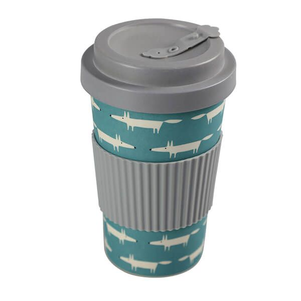 Scion Living Mr Fox BamBroo Teal Blue Drinks Mug