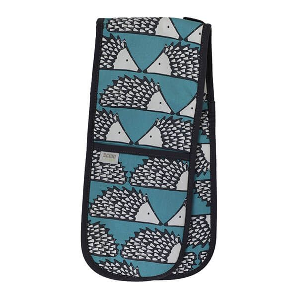 Scion Living Spike Double Oven Glove Teal