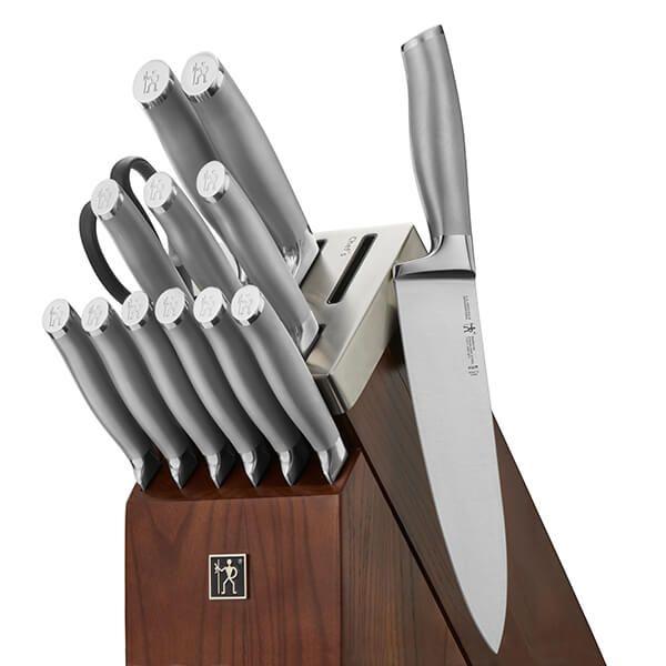 Henckels International 14 Piece Self Sharpening Modernist Knife Block