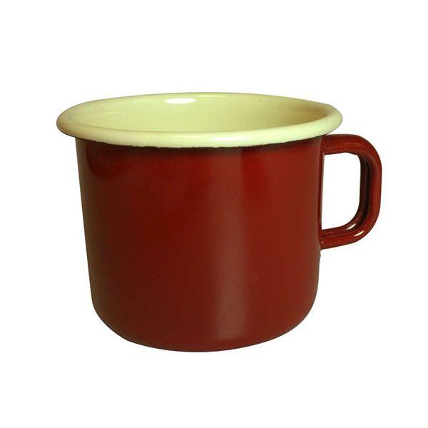 Dexam Claret Enamelware Mug