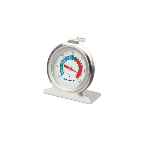 Dexam Stainless Steel Fridge & Freezer Thermometer
