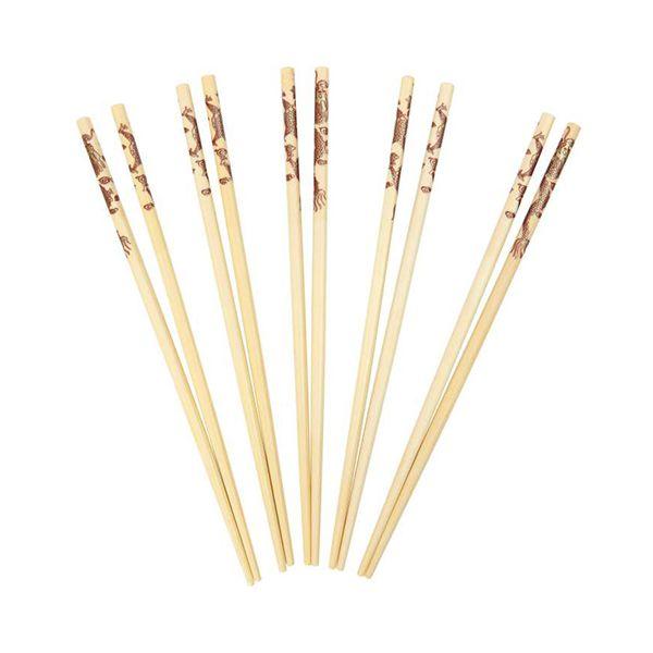 Dexam Swift Bamboo Chopsticks Set Of 10
