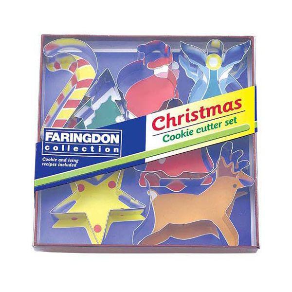 Dexam Swift 7 Piece Christmas Cookie Cutter Set
