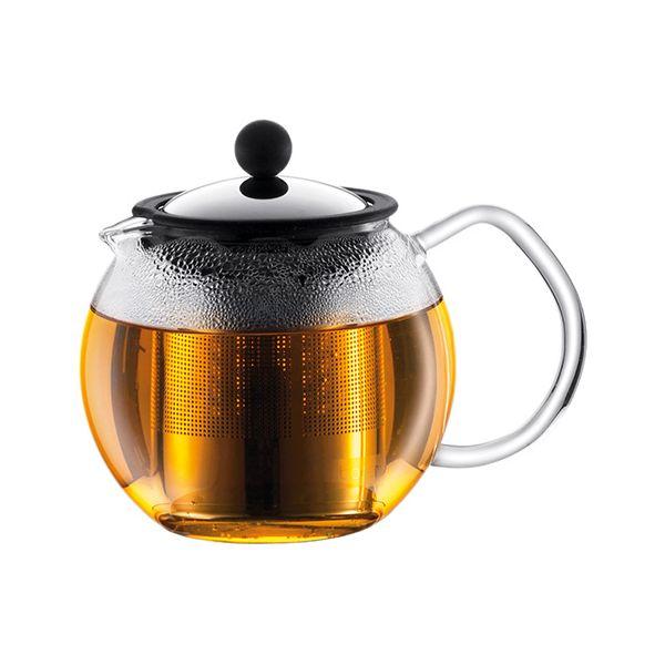 Bodum Assam Tea Press With Stainless Steel Filter 1.0 Litre