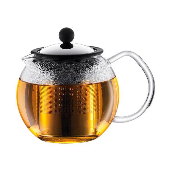 Bodum Assam Tea Press With Stainless Steel Filter 1.5 Litre