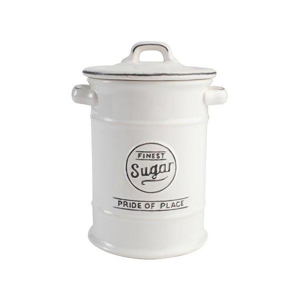T&G Pride Of Place Sugar Jar White