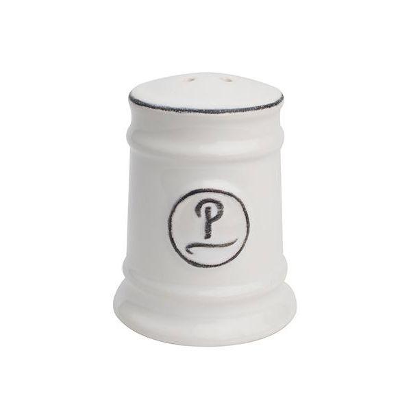 T&G Pride Of Place Pepper Shaker White