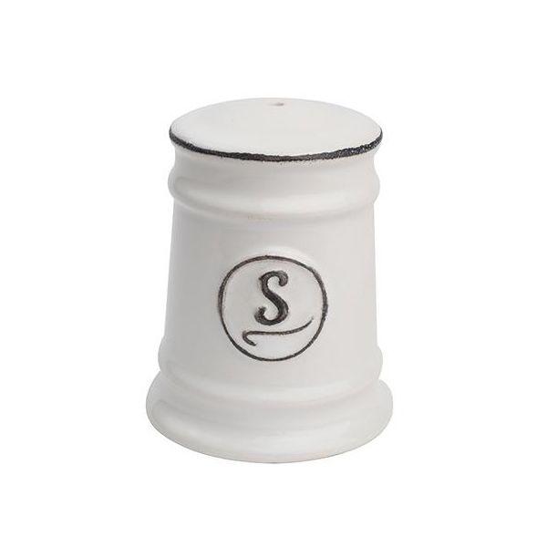 T&G Pride Of Place Salt Shaker White