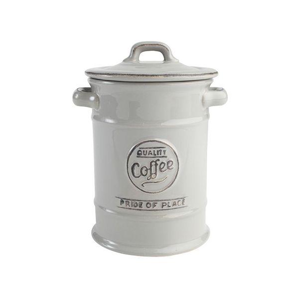 T&G Pride Of Place Coffee Jar Cool Grey