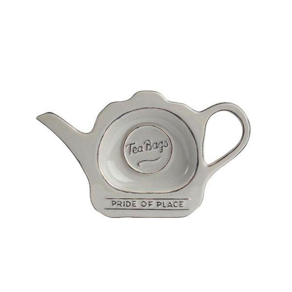 T&G Pride Of Place Tea Bag Tidy Cool Grey