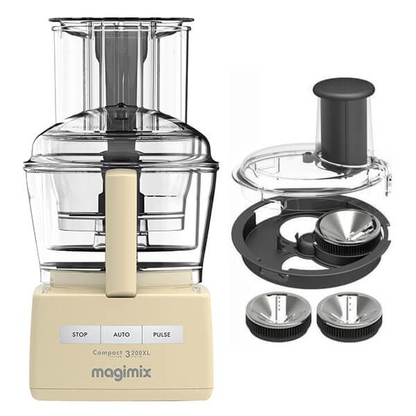 Magimix 3200XL Cream Food Processor with FREE Gift