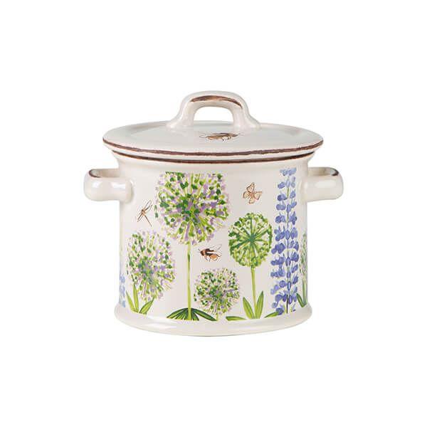 T&G Cottage Garden Bee Small Storage Jar