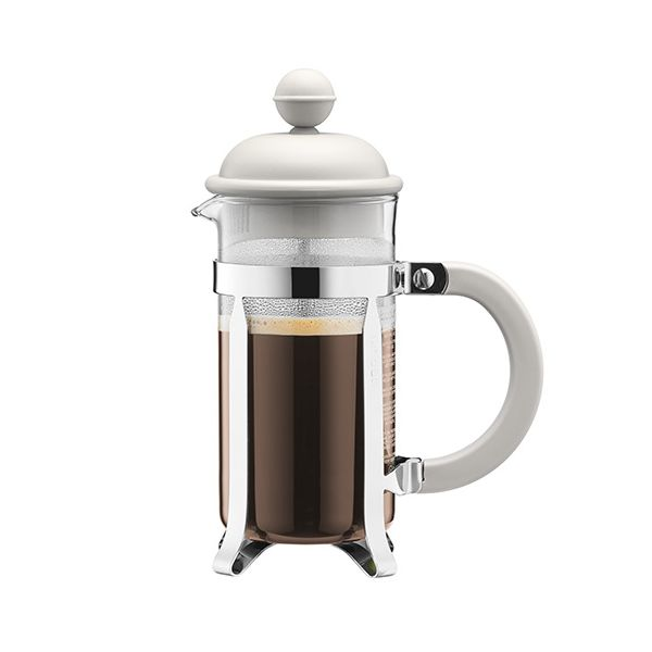 Bodum Caffettiera Coffee Maker 8 Cup Off White