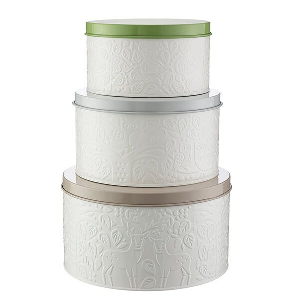 Mason Cash In The Forest Set of 3 Cake Tins