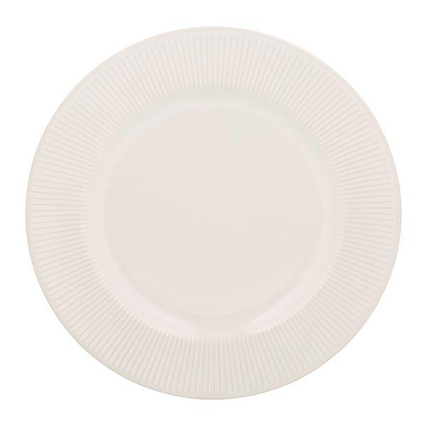 Mason Cash Linear White Dinner Plate