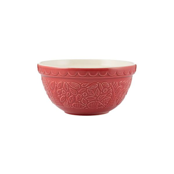 Mason Cash In The Forest S30 Red Mixing Bowl 21cm