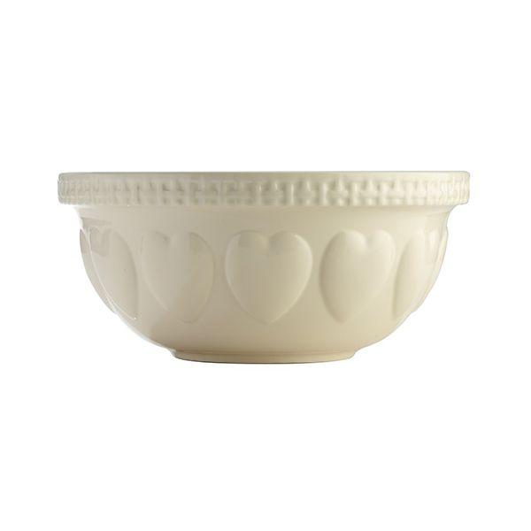 Mason Cash Hearts Cream S12 Mixing Bowl 29cm