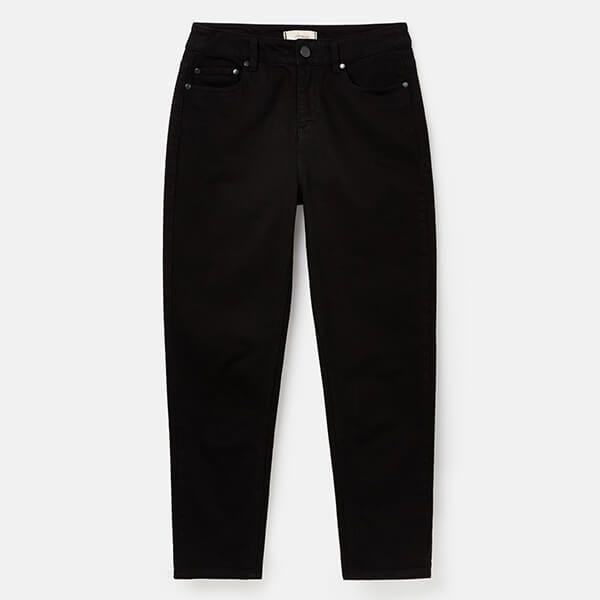 Joules Black Etta Straight Leg Jeans