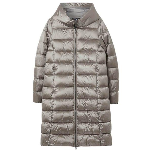 Joules Slate Langholm A-Line Padded Coat