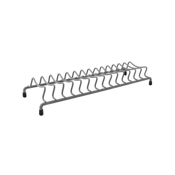 Delfinware Wireware Grey Popular Plate Rack
