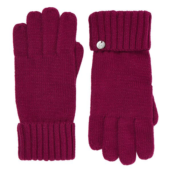 Joules Plum Joanie Knitted Gloves