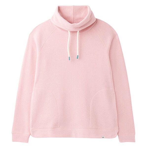 Joules Dawn Pink Nadia Ribbed Sweatshirt