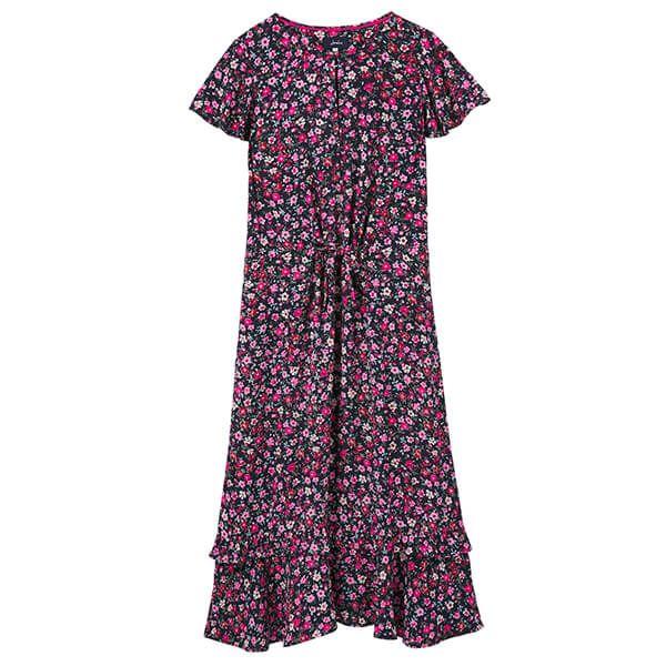 Joules Navy Ditsy Phoebe Short Sleeve Tea Dress