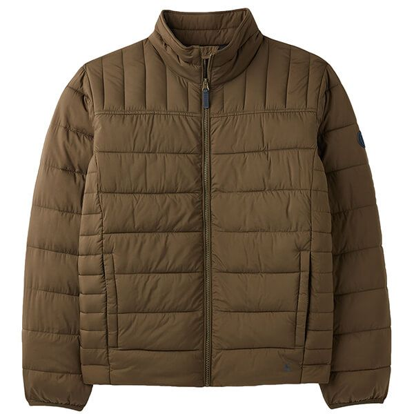 Joules Green Go To Padded Jacket