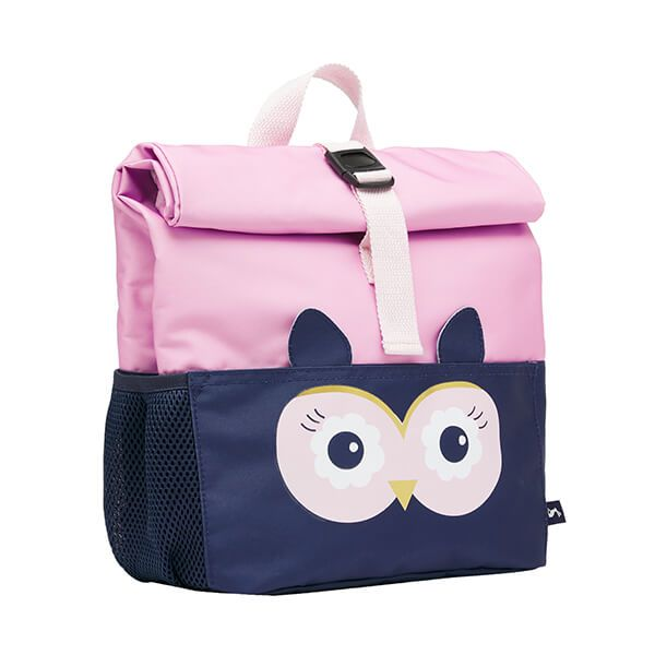 Joules Owl Rolly Roll Top Backpack