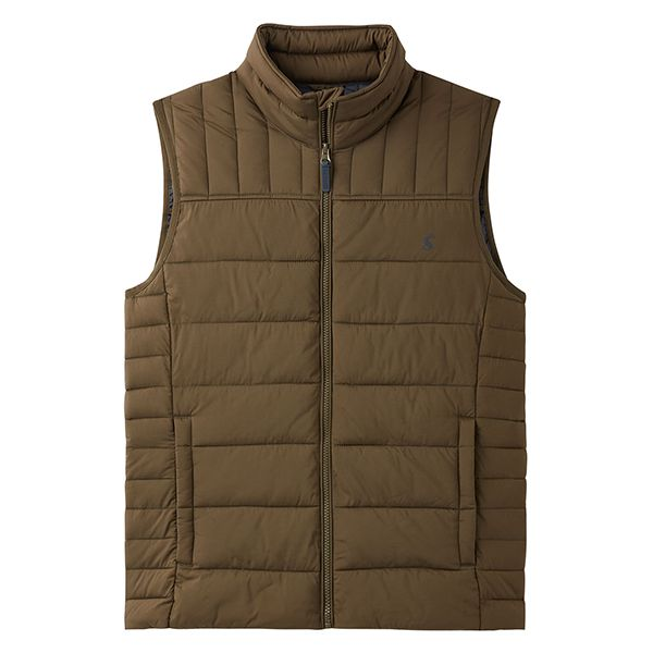 Joules Green Go To Padded Gilet