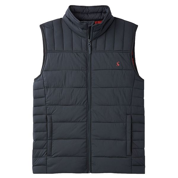 Joules Marine Navy Go To Padded Gilet