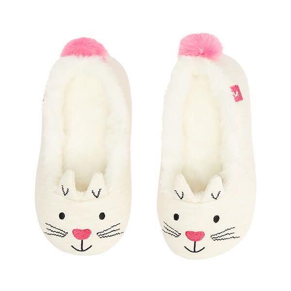 Joules Cat Dreama Character Slippers