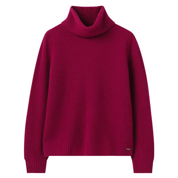 Joules Berry Halton Knitted Turtle Neck Jumper