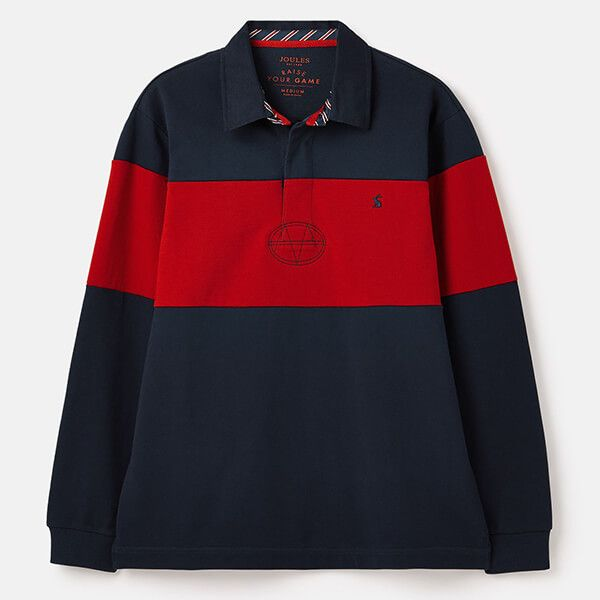 Joules French Navy Onside Rugby Shirt