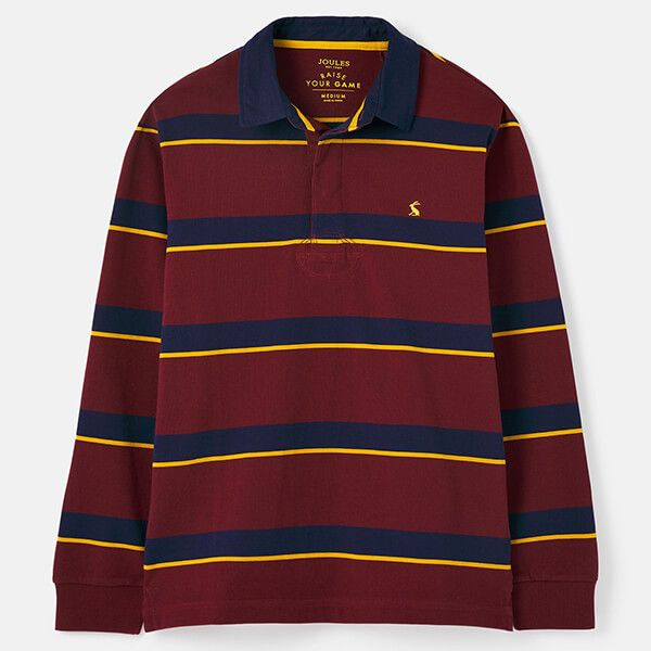Joules Port Stripe Onside Rugby Shirt