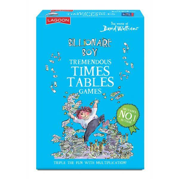 David Walliams Billionaire Boy's Tremendous Times Tables Games