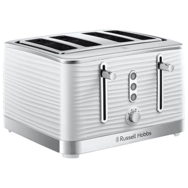 Russell Hobbs 4 Slice Inspire Toaster White