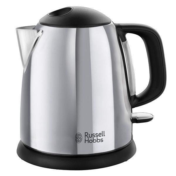 Russell Hobbs Classic Compact 1 Litre Stainless Steel Kettle